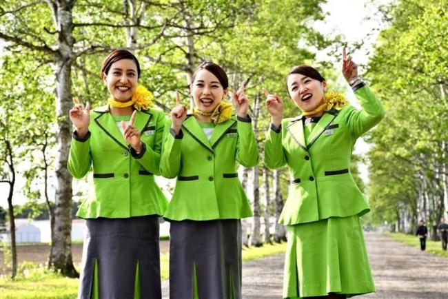 春秋航空日本CAが十勝の魅力を取材