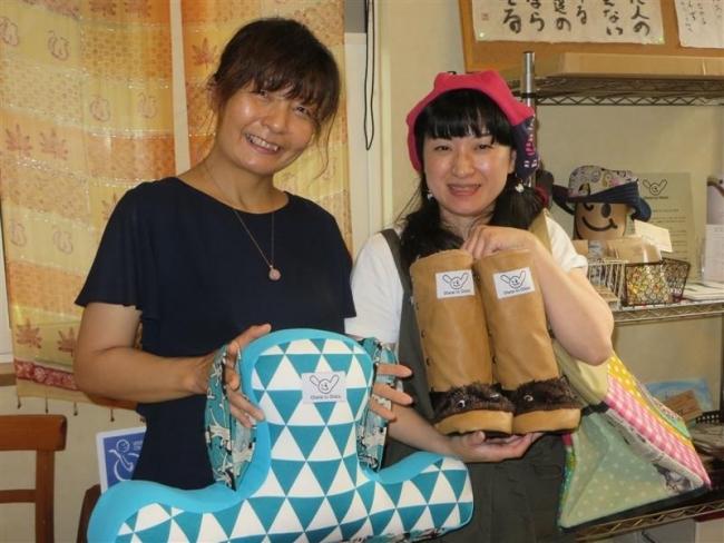 全道で活躍するデザイナー橋本さん 帯広にケアカフェ開設