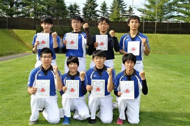 飯塚健斗、松嶋絹花2連覇、全十勝高体連アーチェリー
