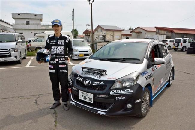 池田の阿部選手、全日本ラリー第5戦に参戦