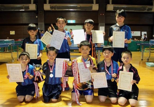 十勝の小学生卓球選手精鋭9人全国へ全農杯大会