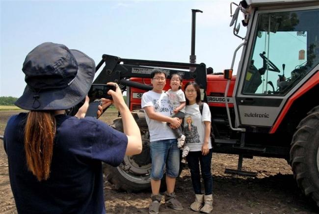 ガールズ農場が農業観光を新提案