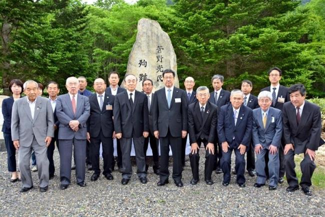 新得町トムラウシ殉難の碑で慰霊式 菅野光民氏非業の死から100年