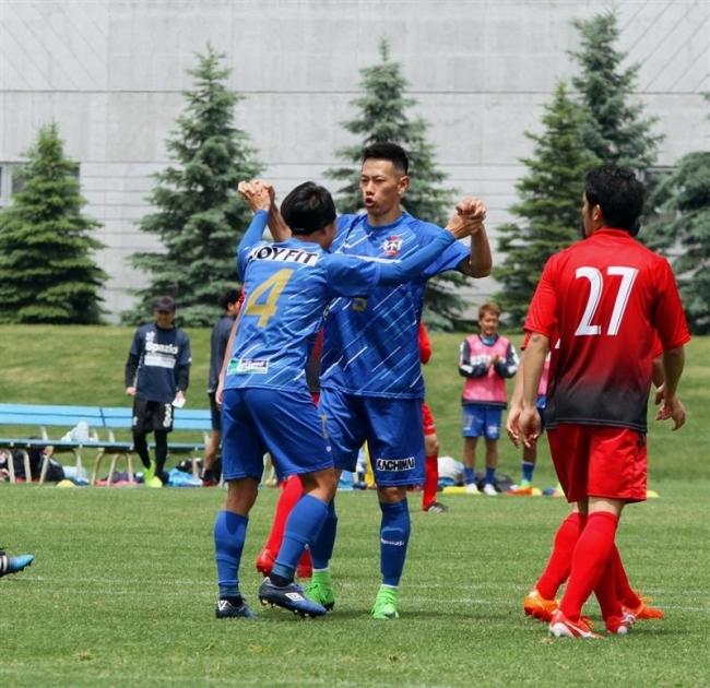スカイアース開幕5連勝で首位、道サッカーリーグ