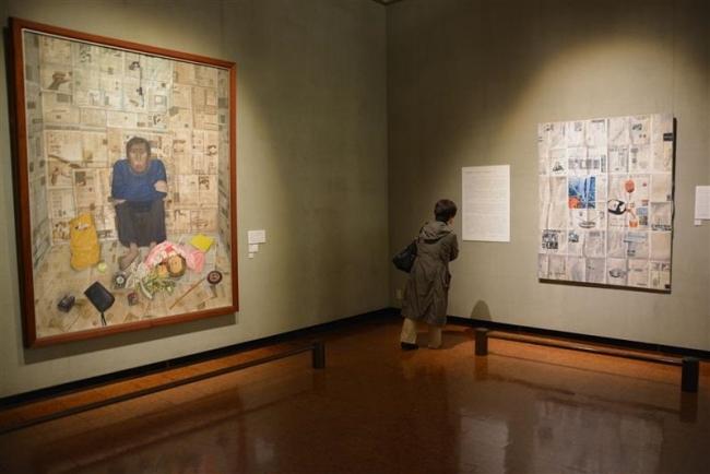 室内風景を比較展示 神田日勝記念美術館の25周年記念展始まる