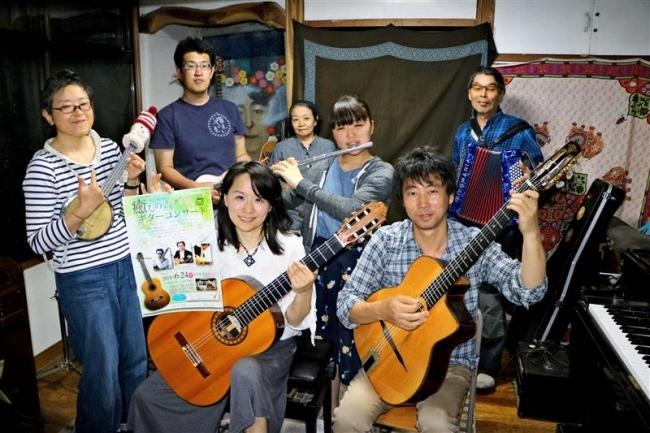 24日に初ステージ 愛好者が新得町ギター部結成