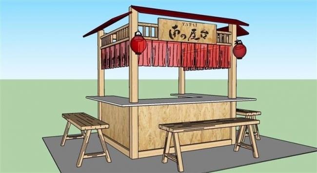 22日からタイで実証実験 「南の屋台」