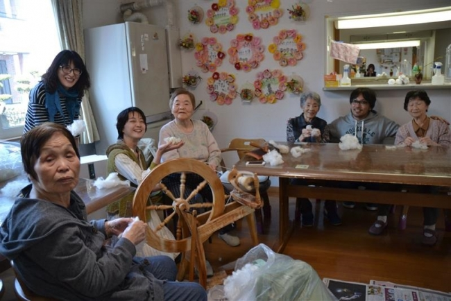 羊毛作品製作で高齢者にいきがいを 伊藤さんらビジネス模索