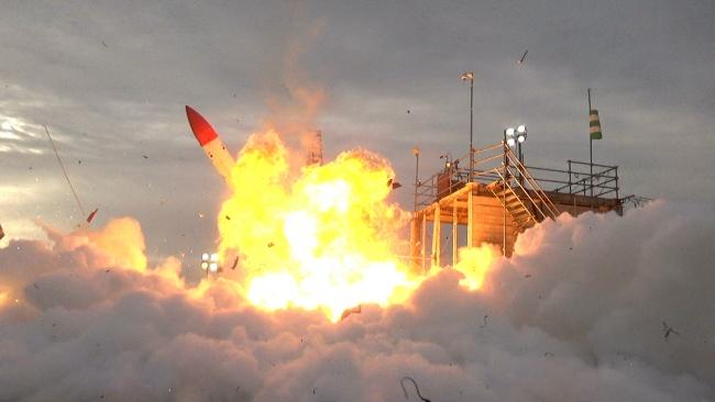 【写真】MOMO2号機 打ち上げ失敗