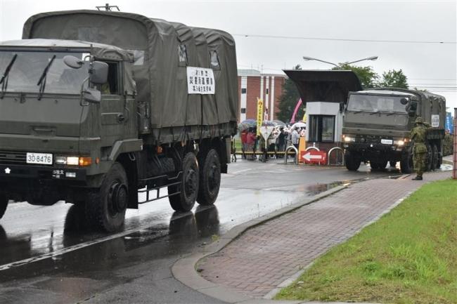 豪雨被災地へ災害派遣 陸自第5旅団