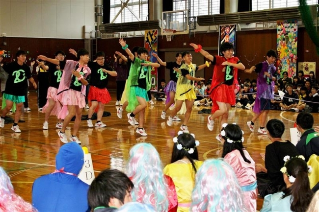 「エキサイト」テーマにアトラクション発表 清水高学祭