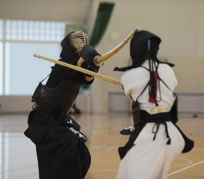 帯南町団体戦男女V女子久保田2冠、剣道全十勝中体連