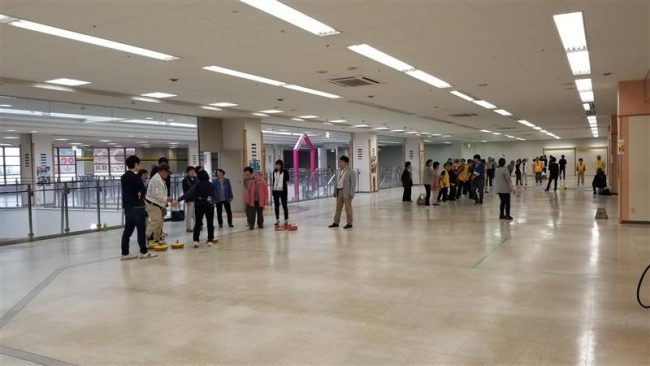MV池田店2階空きフロア、ゼロ次予防拠点に