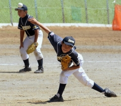 大樹初V本別に抽選勝ち 十勝管内町村少年野球大会