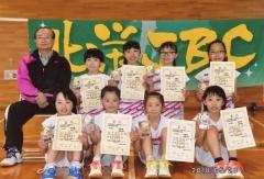 北栄JBC全国へ決意 小学バドミントン若葉カップ