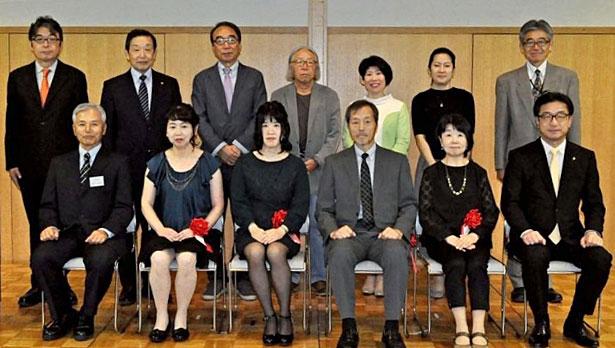 大賞のイシカワさんら称える 中城ふみ子賞表彰式
