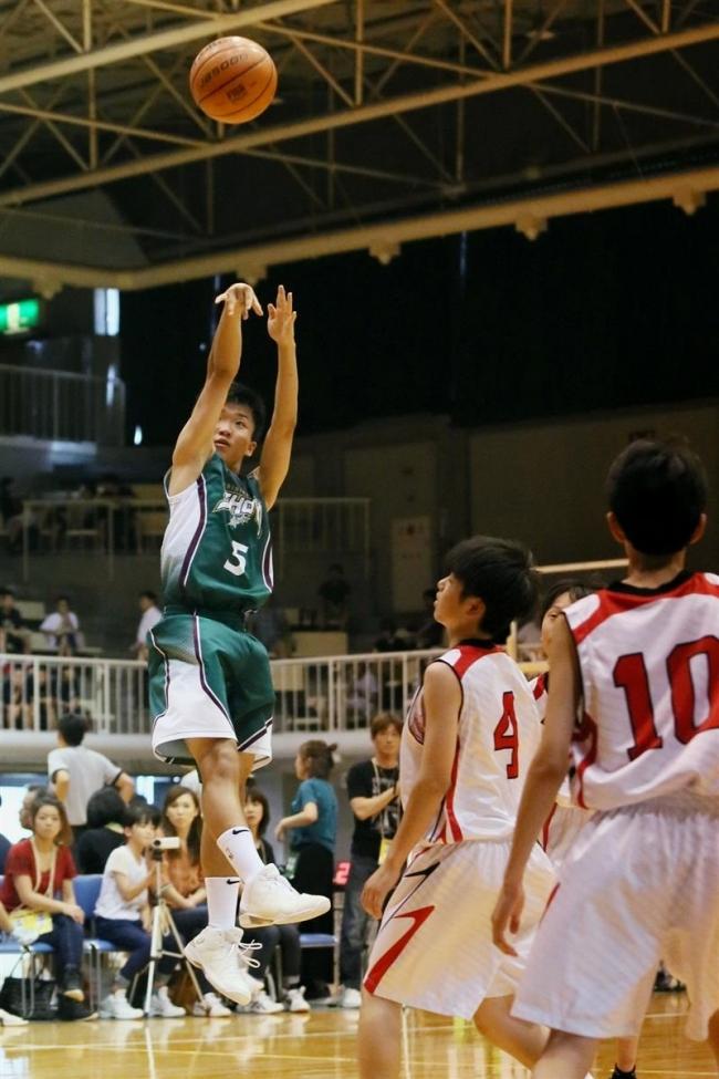 帯翔陽男子初戦圧勝、全道中体連バスケットボール開幕
