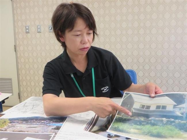 「平時から備えを」 西日本豪雨被災地に派遣された保健師白戸さん