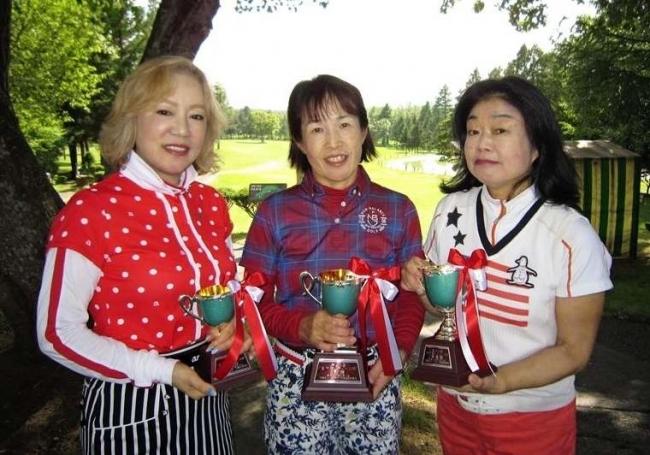 野見山V 青山2位 鈴木3位 全十勝レディース杯ゴルフ