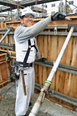 現場の要~十勝の登録基幹技能者(2)「帯建工業(帯広) 勝矢修さん(42)」