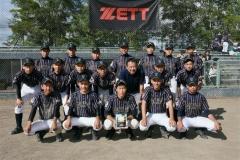 十勝選抜は3位 KWB中学野球北海道大会