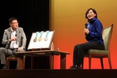 高木美帆選手のトークショー 士幌