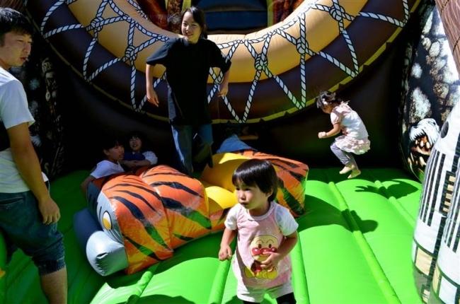 子ども向けの催しにぎわう 本別きらめきタウンフェス最終日