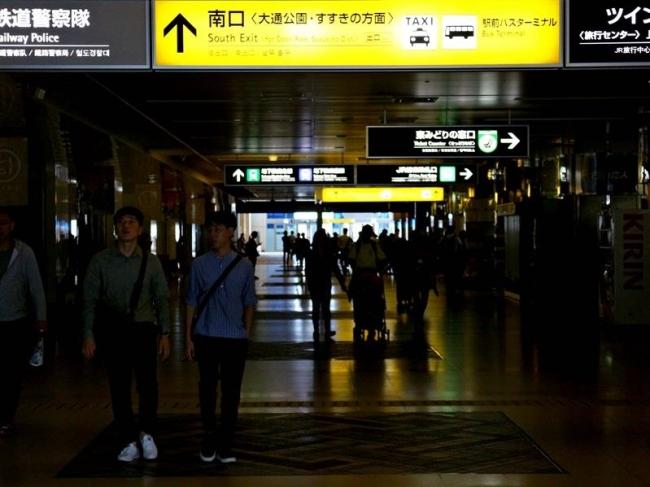 札幌中心街が混乱 地震・停電で