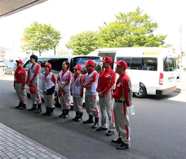 厚真町へ  救護班派遣 清水赤十字病院