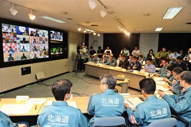 節電を呼び掛け 第4回地震対策本部員会議