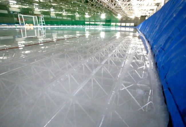 帯広の森スケートリンク溶ける 今後の大会に影響
