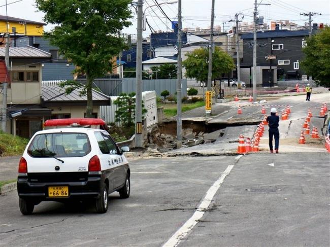 家屋倒壊や断水、札幌市清田区は復旧までに時間も