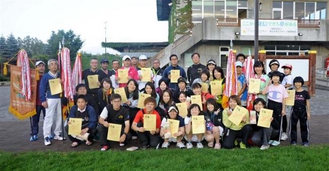 帯広市3年ぶりV ソフトテニス東北海道都市対抗大会