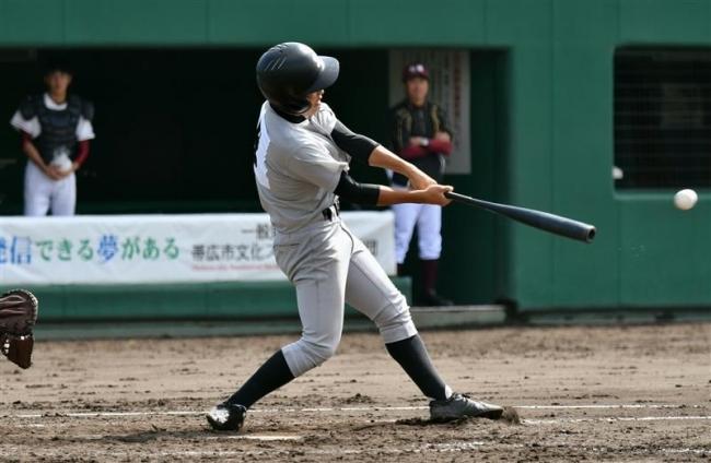 鹿追12安打猛攻、連合に圧勝 秋季高校野球支部予選