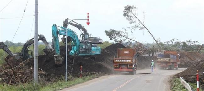 地震から1週間 厚真町で復旧急ピッチ