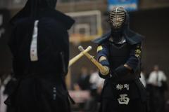 音更柳町少が団体大会中学男女V、剣道全十勝少年