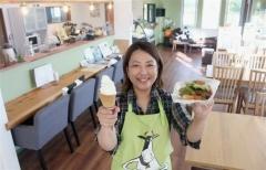 菊地ファームにカフェ開店 広尾
