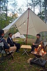 千年の森閉園時間を貸し切り、1日限定2組豪華キャンプ企画