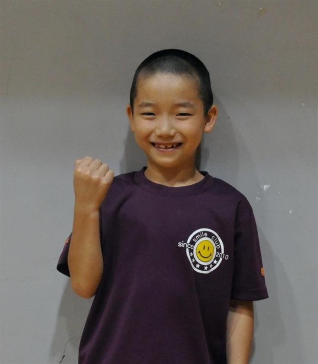 長嶋奏、スマイルクラブV 東北海道小学生卓球大会
