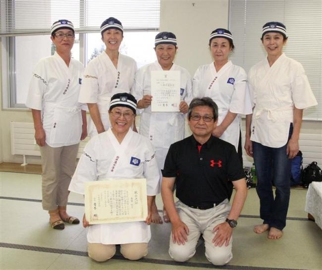 日本泳法団体シニア初V向井流水法帯広 森勢範士合格