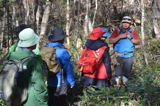 鹿追のガイドに学ぶ 日本ジオパーク全国大会プレツアー