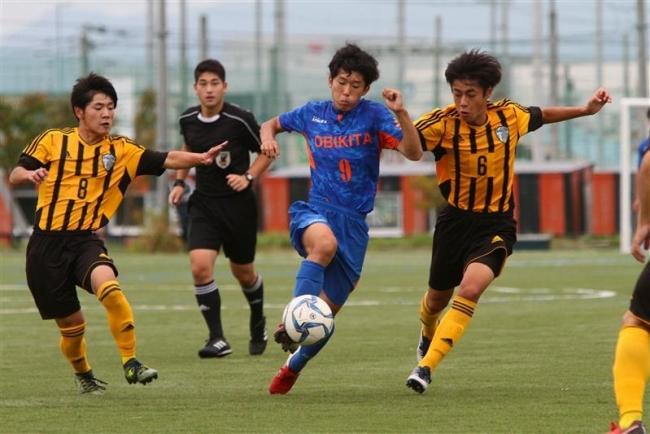 帯北高最終節敗れ6位、サッカープリンスリーグ