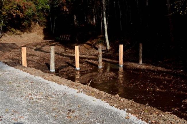 流木対策で浦幌2河川で簡易ダム実証 十勝総合振興局