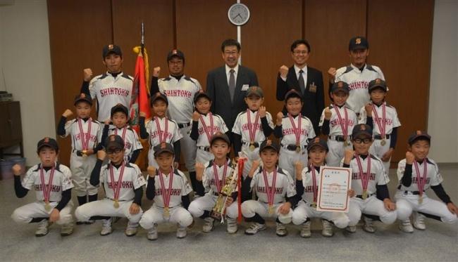 新得町野球少年団 道東大会初V、井上主将MVP