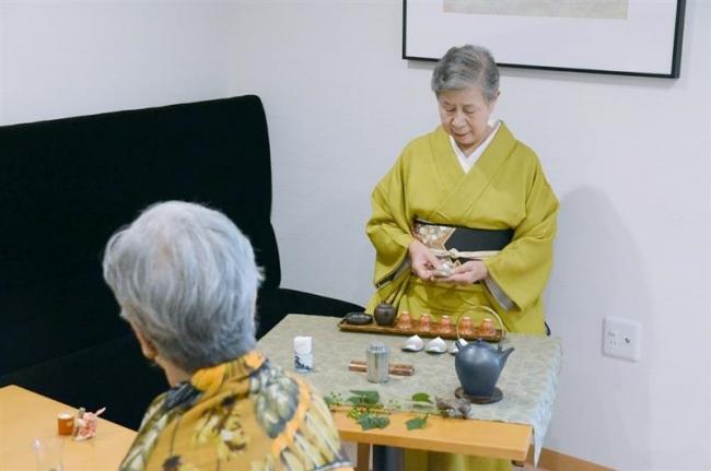 自然茶の魅力 五感で味わう 楽しむ会が集い