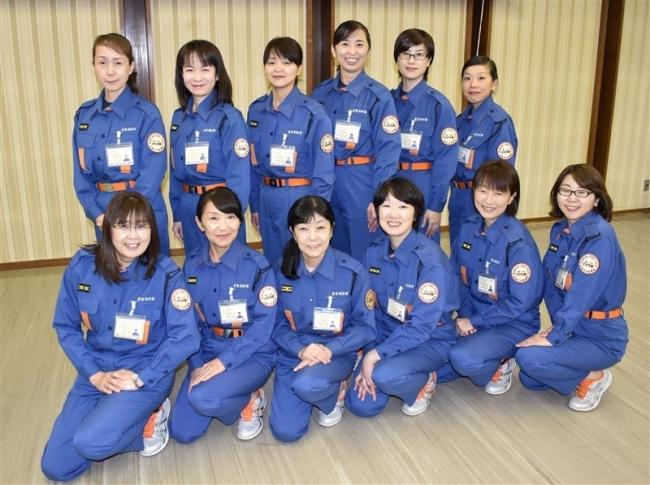 女性消防団員全員が応急手当指導員に 芽室