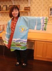 中札内村観光協会が法被新調 村の特徴を表現