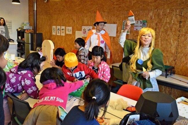 ハロウィーンパーティー盛況 池田