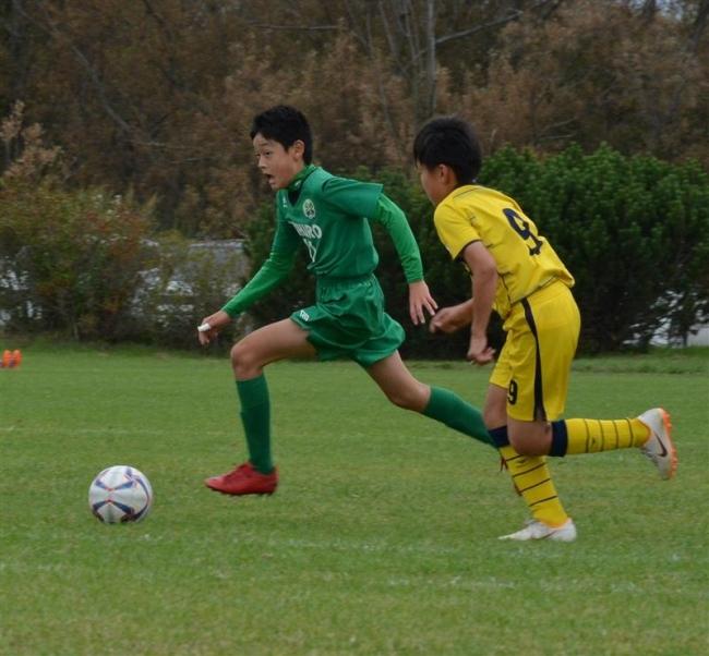 帯広FC優勝 ワインカップ兼勝毎杯少年サッカー