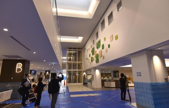 医療の中核、全容 新厚生病院が初公開